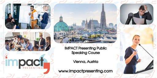 2-Day Vienna IMPACT Presenting - Public Speaking and Business Presentations