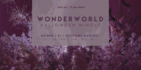 WonderWorld Halloween Mingle (21+) | DJ, Party & Drinks | Costume Contest tickets