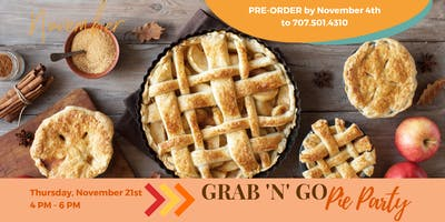 Grab 'N' Go Pie Party