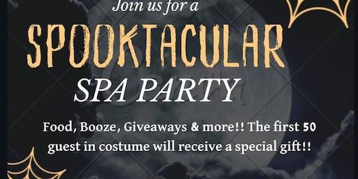 Spooktacular Spa Party