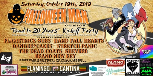 """Halloween Man Comics """"Road to 20 Years"""" Party"""