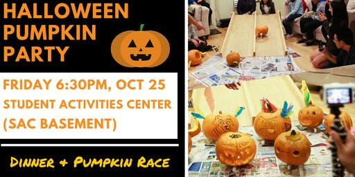 4Corners Halloween Pumpkin Party (All UCLA International Students Welcome)