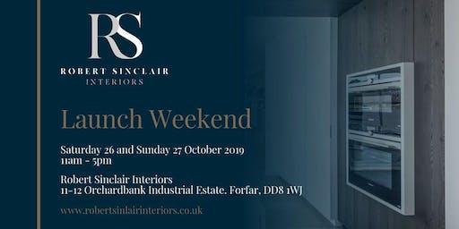 Official Launch Weekend | Robert Sinclair Interiors