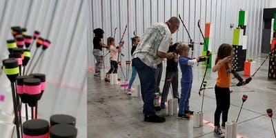 Supershots!  Archery for ages 5-7