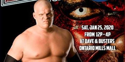 WWE SUPERSTAR KANE MEET & GREET EXPERIENCE