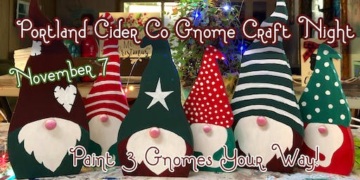 Portland Cider Co 'Gnome Craft Night' November 7
