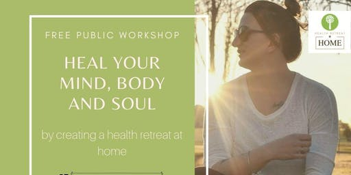 Free workshop WAGGA - Heal your mind, body and soul by Emma McAuliffe