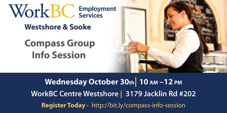 Info Session - Compass Group tickets