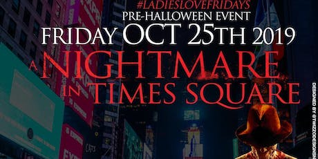 A Nightmare in Times Square at Jimmy's NYC Friday Pre-Halloween Event  tickets