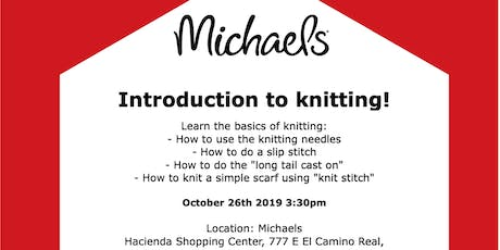Introduction to knitting! tickets