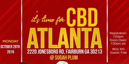 It's Time for CBD - ATLANTA