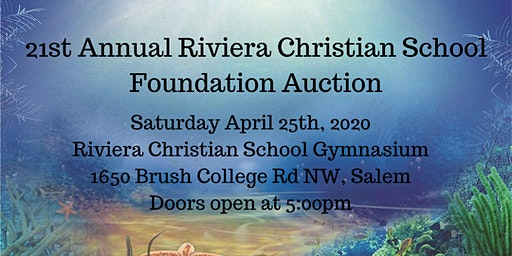 2020 Riviera Christian School Foundation Auction