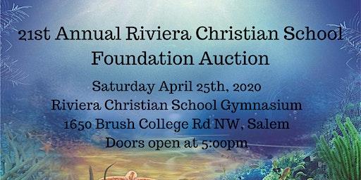 2020 Riviera Christian School Foundation Auction
