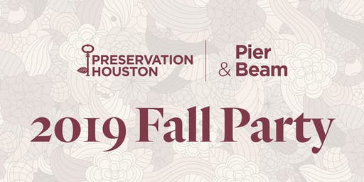 2019 Pier & Beam Fall Party
