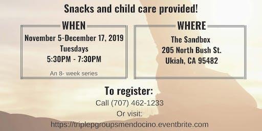 Triple P Parenting Group UKIAH [NOV 5 - DEC 17, 2019]