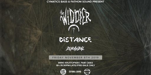 Cymatics bass & Fathom Sound Present: The Widdler & Distance