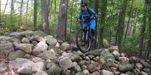Women's riding rock gardens clinic