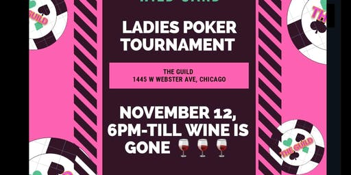Ladies poker Night @THE GUILD