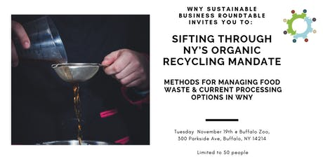 "Panel Discussion: ""Sifting through NY's Organic Recycling Mandate"" tickets"