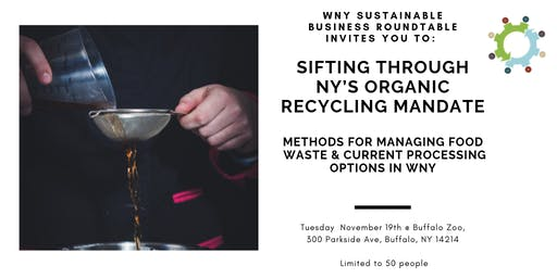 "Panel Discussion: ""Sifting through NY's Organic Recycling Mandate"""