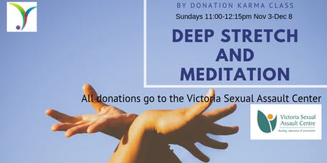 By Donation Deep Stretch and Meditation tickets