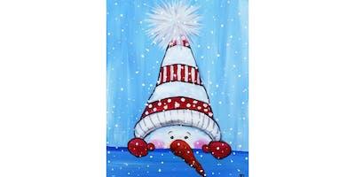 "12/14 - Cocoa & Canvas Family Friendly Event ""Peek-a-Boo Snowman"" @ Eastlake Bar & Grill, Seattle"