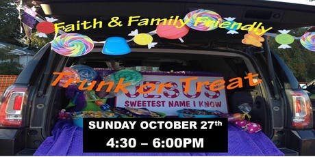 Trunk-or-Treat at Living Faith Bible Church tickets