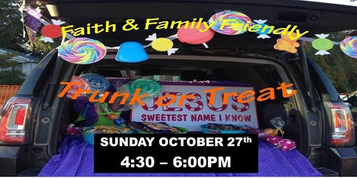 Trunk-or-Treat at Living Faith Bible Church