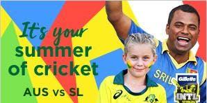 GILLETTE T20 INTL: AUSTRALIA VS SRI LANKA