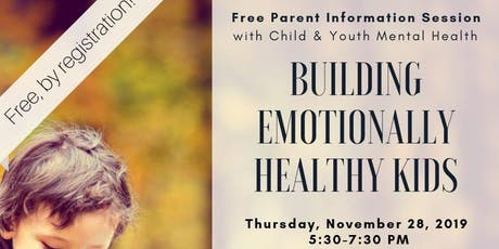 Building Emotionally Healthy Kids tickets