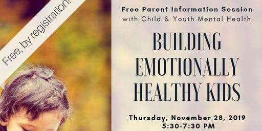 Building Emotionally Healthy Kids