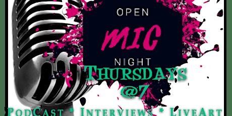 Thursday Open Mic tickets