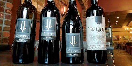 Winemaker Dinner: EFESTE
