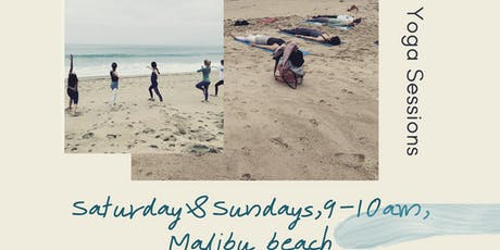 Yoga sessions on the beach || Malibu tickets