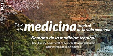 Semana de la medicina tropical entradas