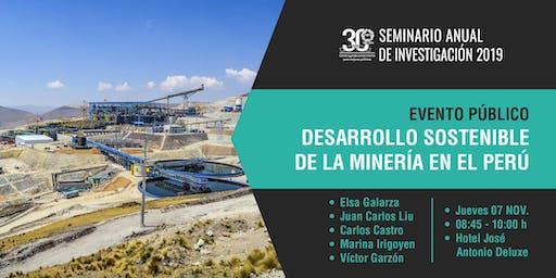 Desarrollo sostenible de la Minería en el Perú