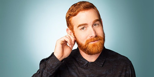 Andrew Santino! Presented by Temblor Brewing & Kern County Premium