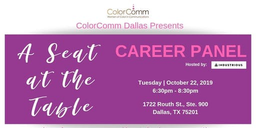 A Seat at The Table: Career Panel