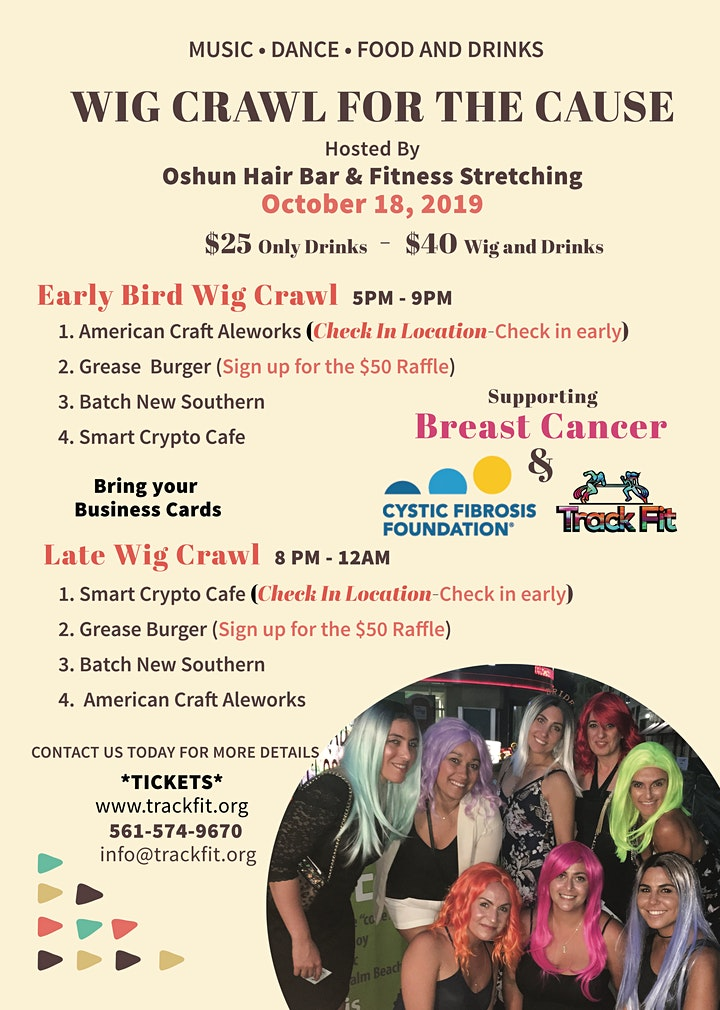 Wig Crawl For The Cause image