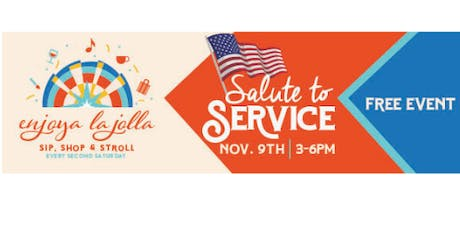 Enjoya La Jolla- Salute to Service! tickets