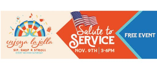 Enjoya La Jolla- Salute to Service!