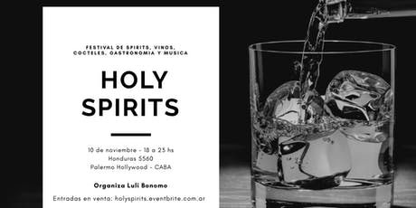 Holy Spirits, feria de vinos, spirits y cocteles entradas