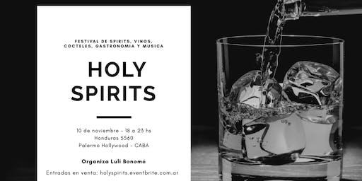 Holy Spirits, feria de vinos, spirits y cocteles