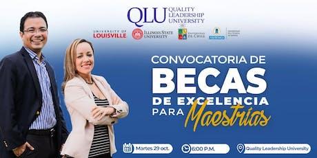 Convocatoria de Becas para Maestrías - 100% en Panamá  entradas