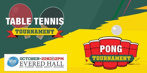Table Tennis & Pong  Tournament