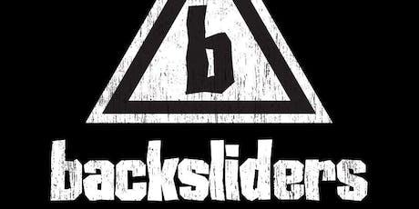 Backsliders tickets