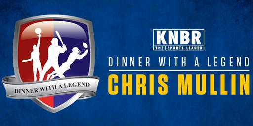KNBR's Dinner with a Legend - Chris Mullin