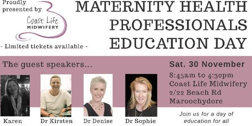 MATERNITY HEALTH PROFESSIONAL EDUCATION DAY
