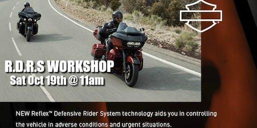 Harley-Davidson R.D.R.S Workshop