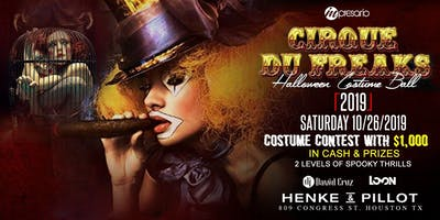 CIRQUE DU FREAKS -Halloween Costume Ball 2019 - Henke & Pillot